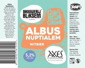 Nieuw; de Collab-Brew met Brouwerij Bliksem (Breda)